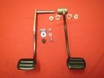 1959-62 Corvette Clutch and Brake Pedal Kit (R)