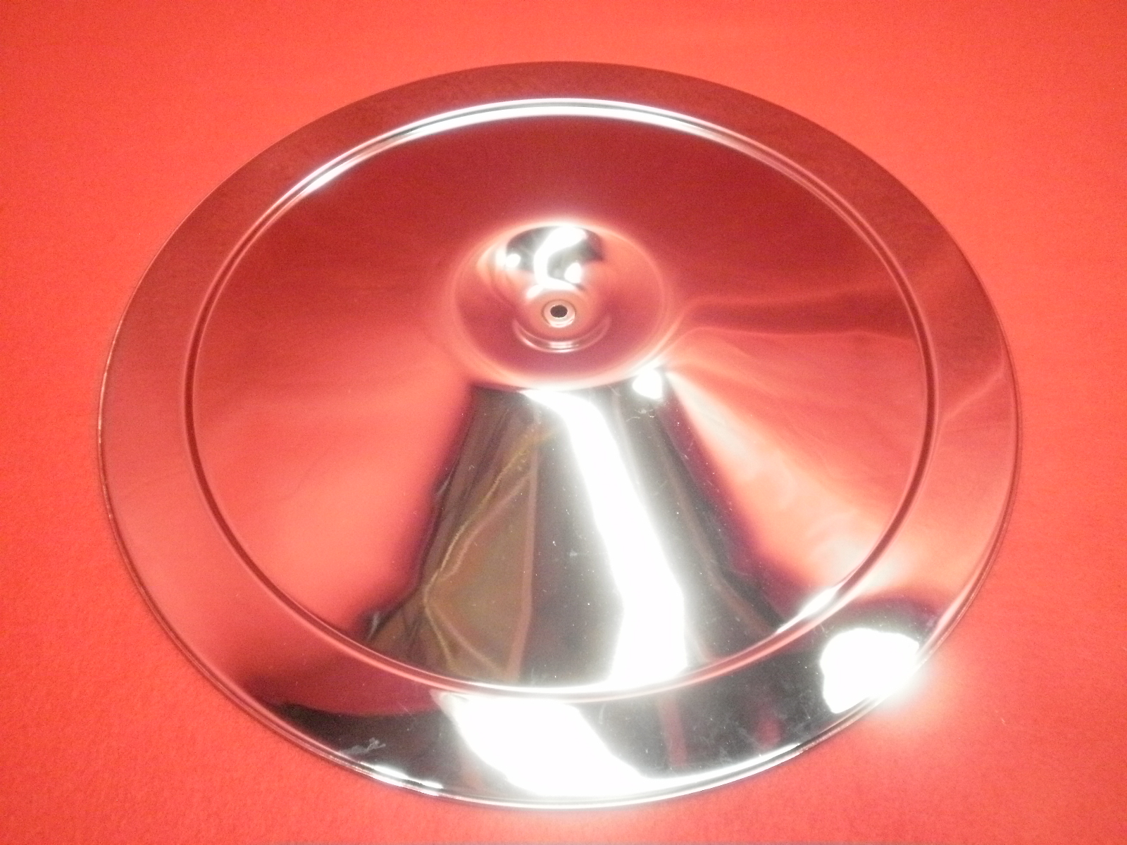 Open Element Chrome Air Cleaner Lid