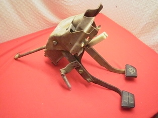 Clutch pedal assembly chevy truck