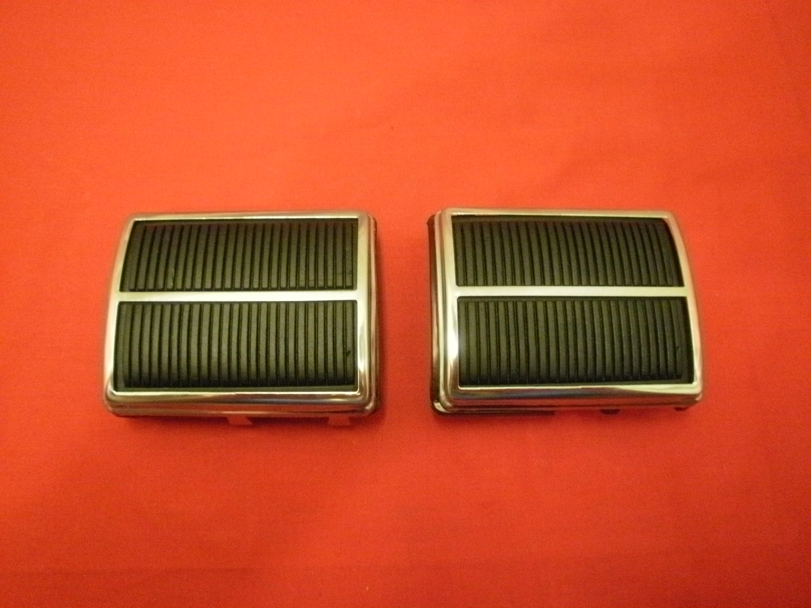 65-70 Chevy Passenger Pedal Cover Set (R)