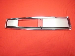 68-72 Chevelle and Monte Carlo Console Trim Plate