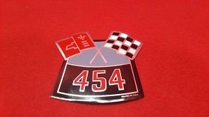 454 Air Cleaner Decal