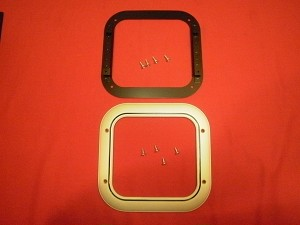 68-72 Chevelle Shifter Seal Hold Down Set